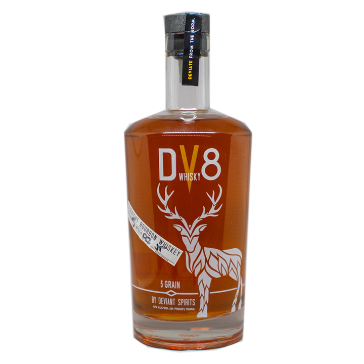 Deviant Spirits DV8 5 Grain Bourbon Whisky 750mL