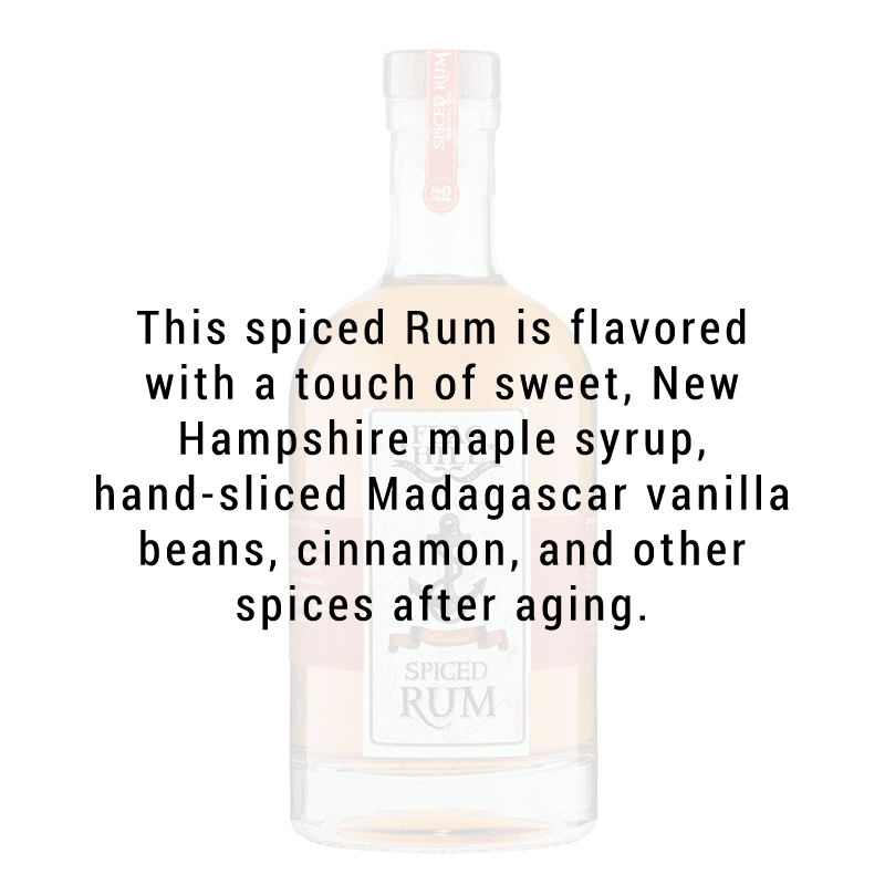 Flag Hill Spiced Rum 750mL