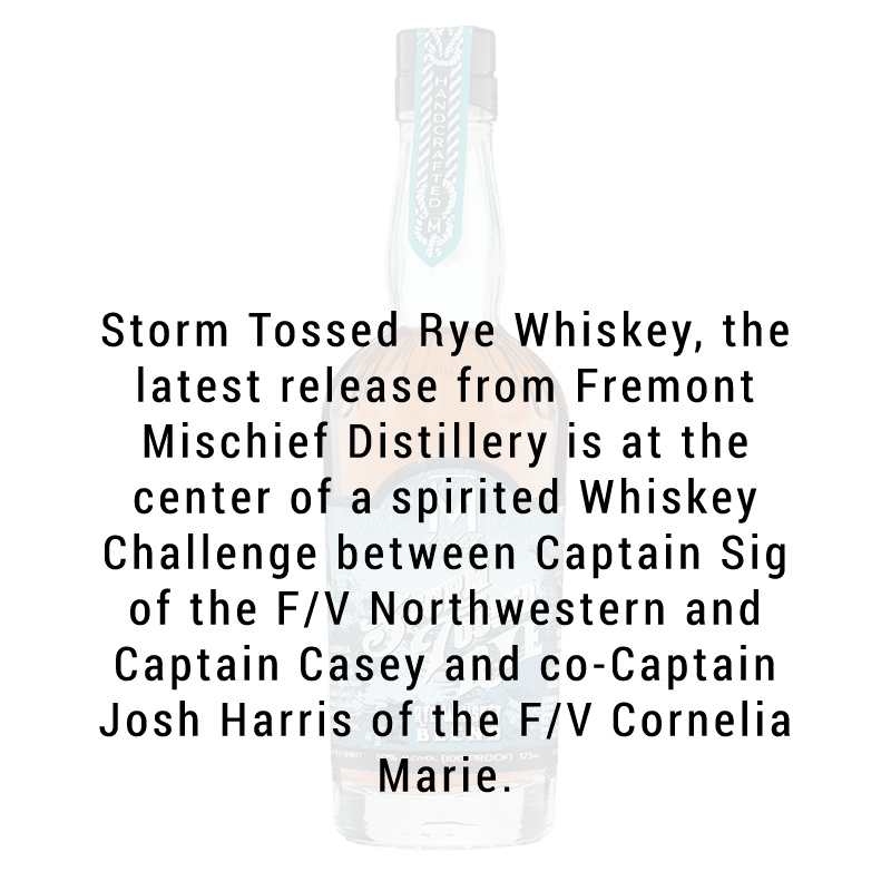 Fremont Mischief Distilling Storm Toss CAPTS. Josh and Casey 375ml