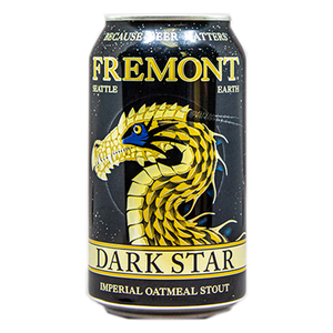 FREMONT DARK STAR IMPERIAL OATMEAL STOUT 12.oz