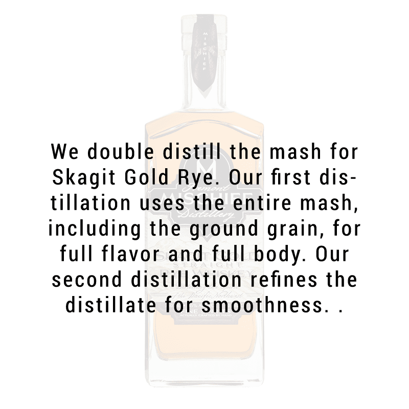 Fremont Mischief Distilling Skagit Gold Straight Rye Whiskey 750ml