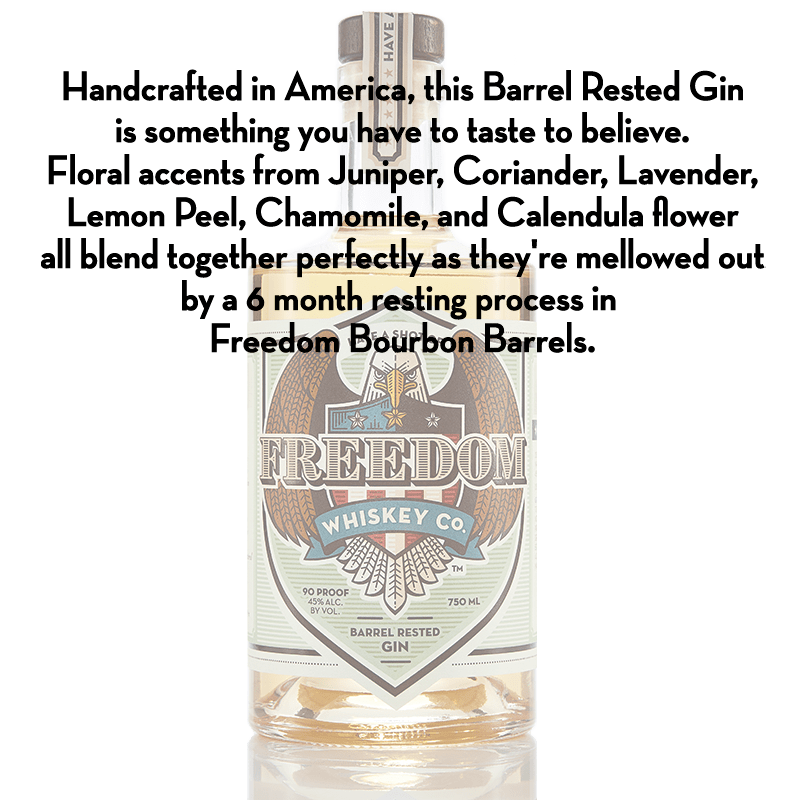 Have A Shot Of Freedom Co. Barrel Rested Gin 750mL