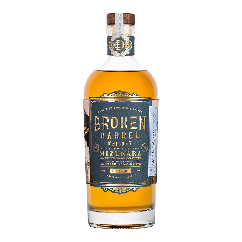 INFUSE SPIRITS BROKEN BARREL MIZUNARA WHISKEY 750ml