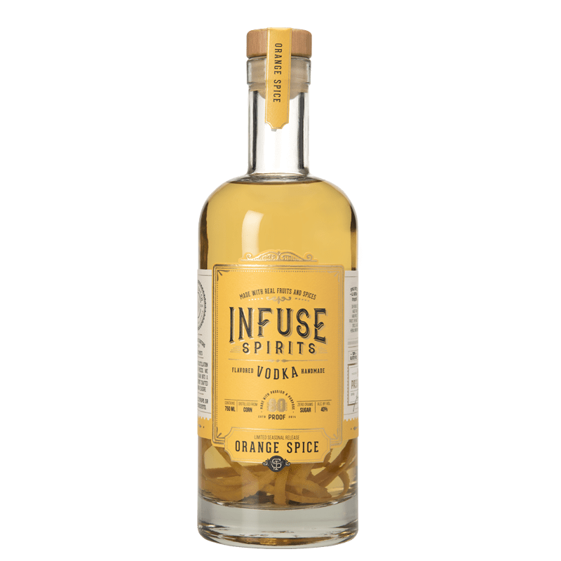 INFUSE ORANGE SPICE VODKA 750ml