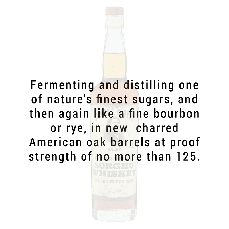 James F.C. Hyde Sorgho Whiskey 750mL