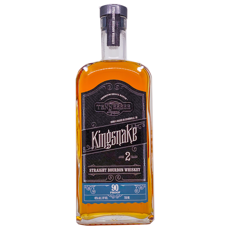 Tennessee Legend Kingsnake Straight Bourbon Whiskey 750mL