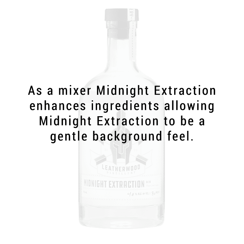 Leatherwood Distillery Midnight Extraction Rum 750ml