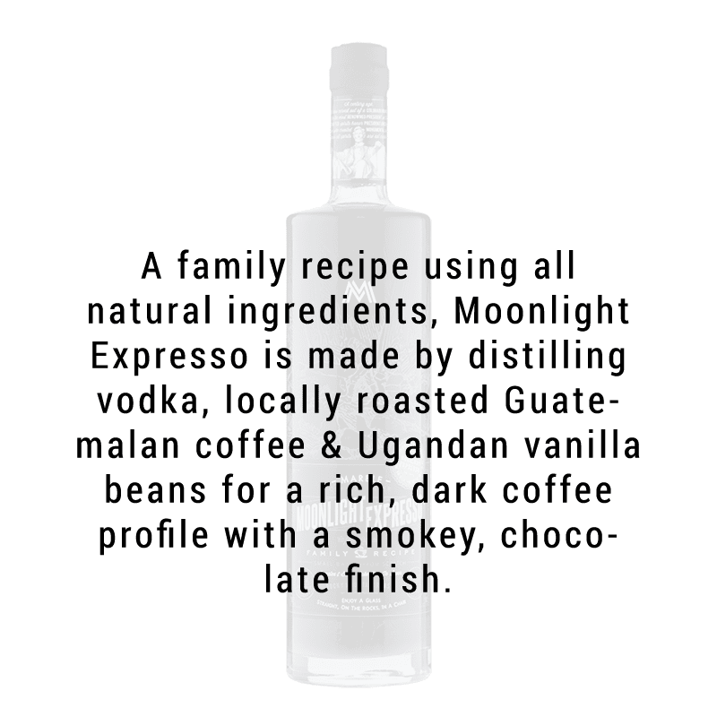 Marble Distillery Moonlight Expresso Vodka 750ml