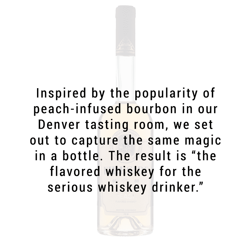 Mile High Spirits Fireside Peach Whiskey 750mL