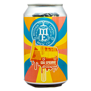 MOTHER EARTH CALI CREAMIN' CREAMSICLE VANILLA CREAM ALE 12.oz