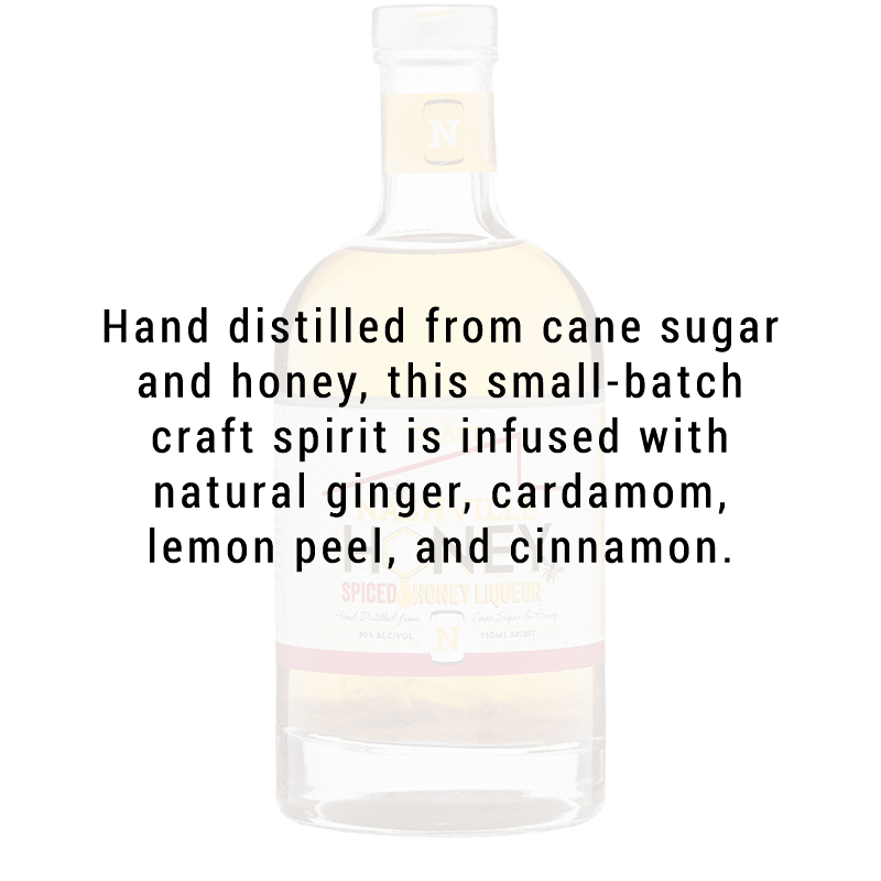 Nashville Craft Honey Spiced Honey Liqueur 375ml