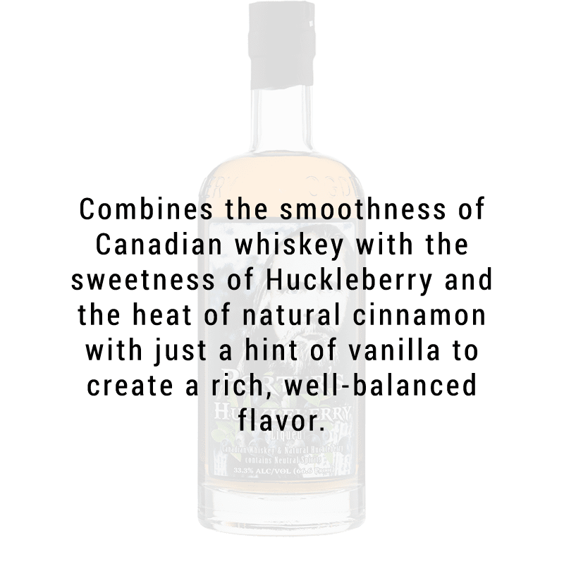 Ogden's Own Distillery Porter's Huckleberry Liqueur 750ml