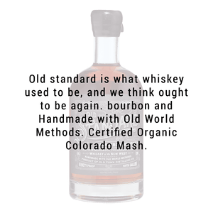 Old Town Distilling Co. Old Standard Bourbon Whiskey 750mL