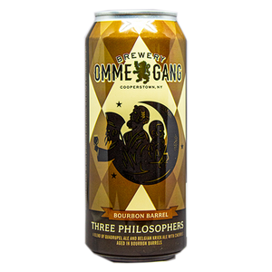 BREWERY OMME GANG THREE PHILOSOPHERS Bourbon Barrel Aged W/ Cherries 16.oz