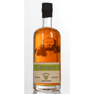 Ogden's Own Distillery Porter's Rye Whiskey 750ml