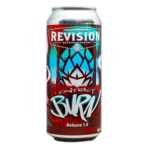 REVISION CONTACT BURN 1.0 HAZY DIPA 16.oz