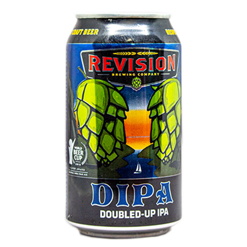 REVISION DIPA DOUBLE-UP IPA 12.oz