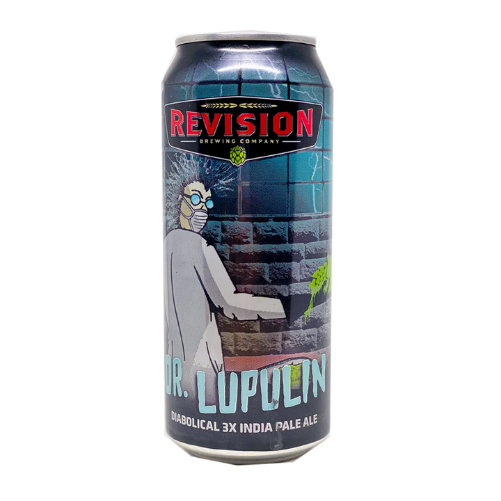 REVISION DR. LUPULIN DIABOLICAL 3X IPA 16oz