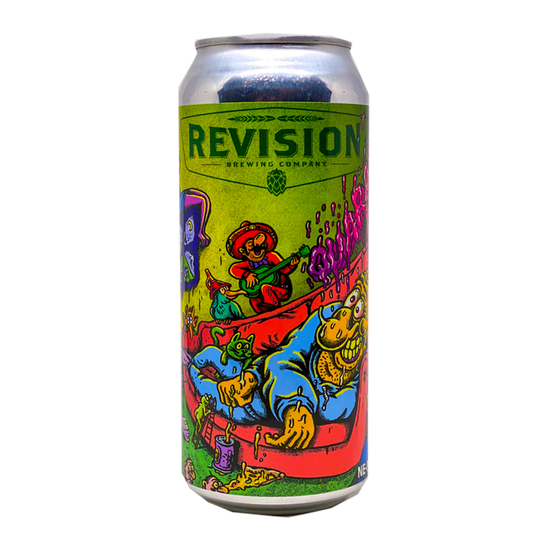 REVISION QUARANTINE DREAMS HAZY DIPA 16oz