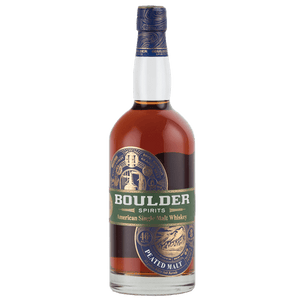 Boulder Spirits American Single Malt Whiskey - Peated 750mL