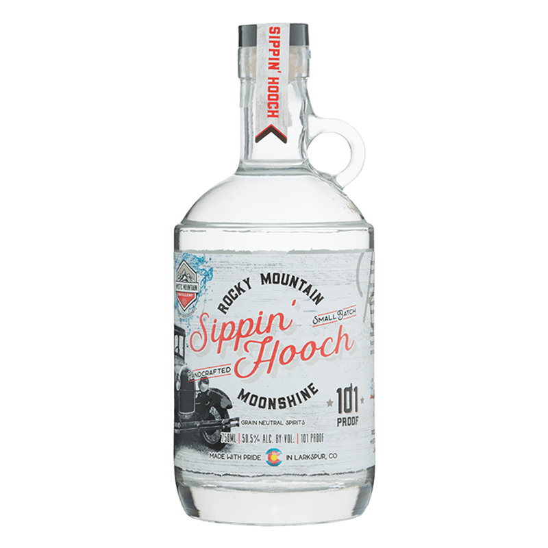 Mystic Mountain Rocky Mountain Moonshine - 'Sippin Hooch' - 101 Proof 750mL buy online great american craft spirits