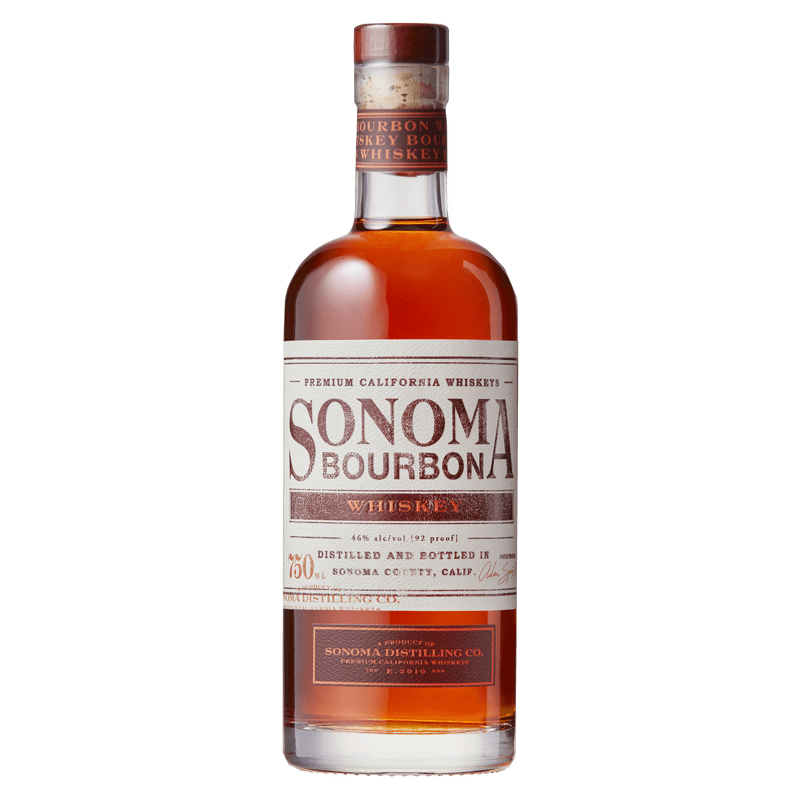 Sonoma Distilling Bourbon Whiskey 750mL