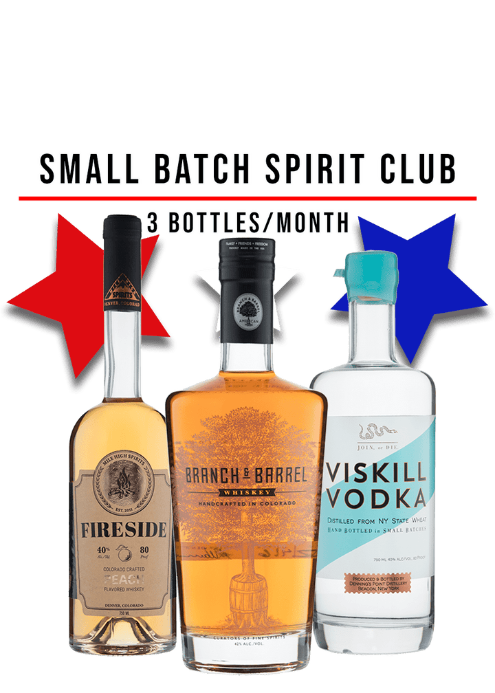 Small Batch Mixed Spirits Club