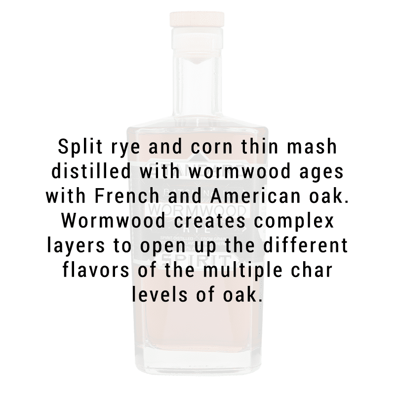 Standard Wormwood Distillery Wormwood Rye 750mL