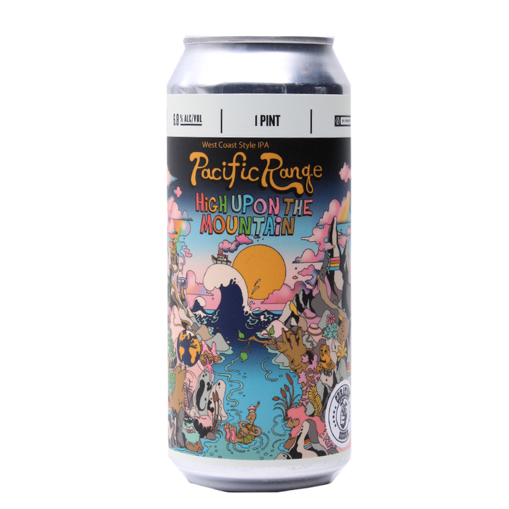 STEREO PACIFIC RANGE HIGH UPON THE MOUNTAIN WEST COAST IPA 16.oz