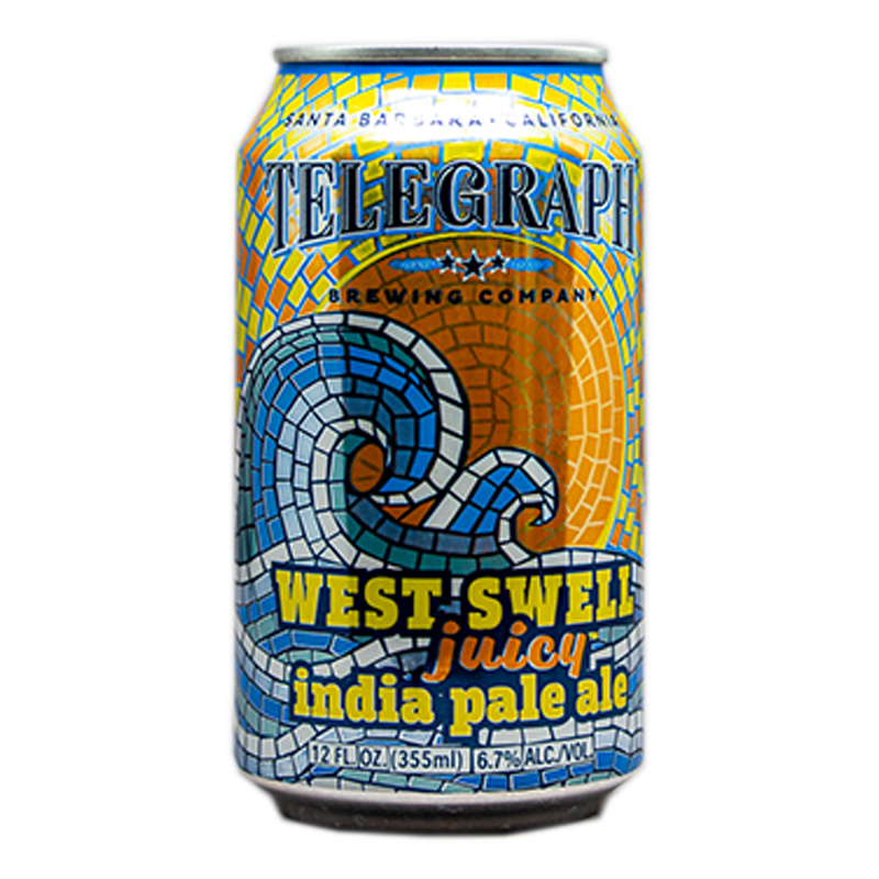 TELEGRAPH WEST SWELL JUICY IPA 12.oz