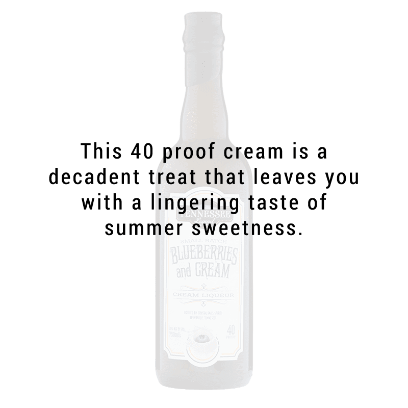 Tennessee Legend Blueberries and Cream 750mL