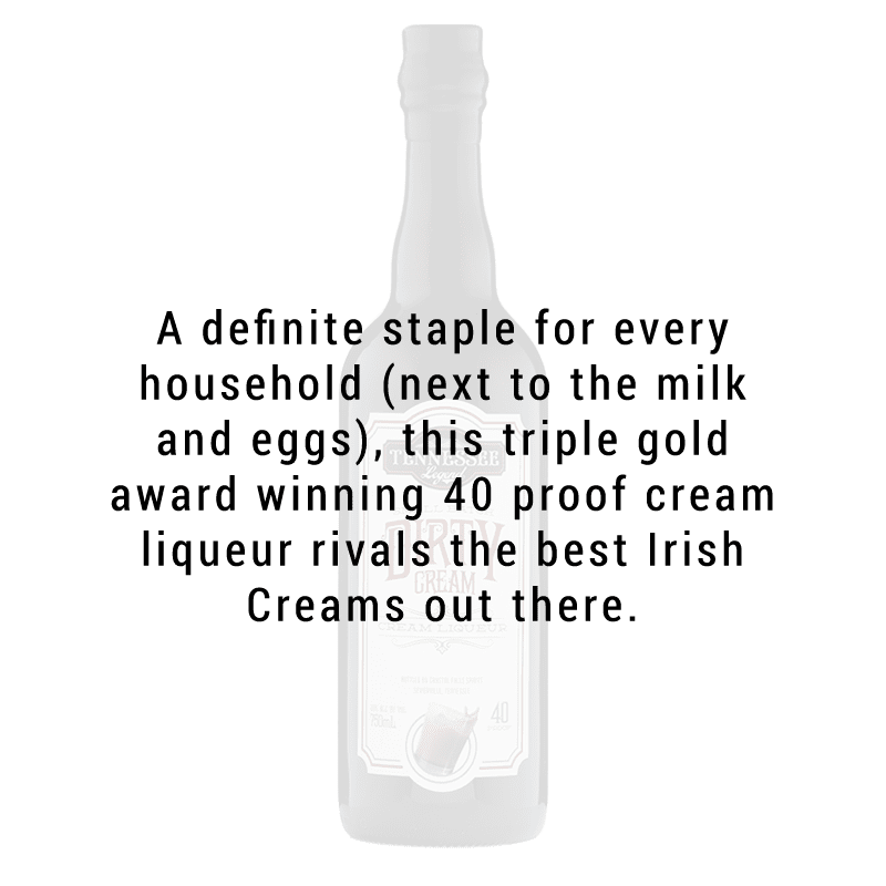 Tennessee Legend Dirty Cream Liqueur 750mL