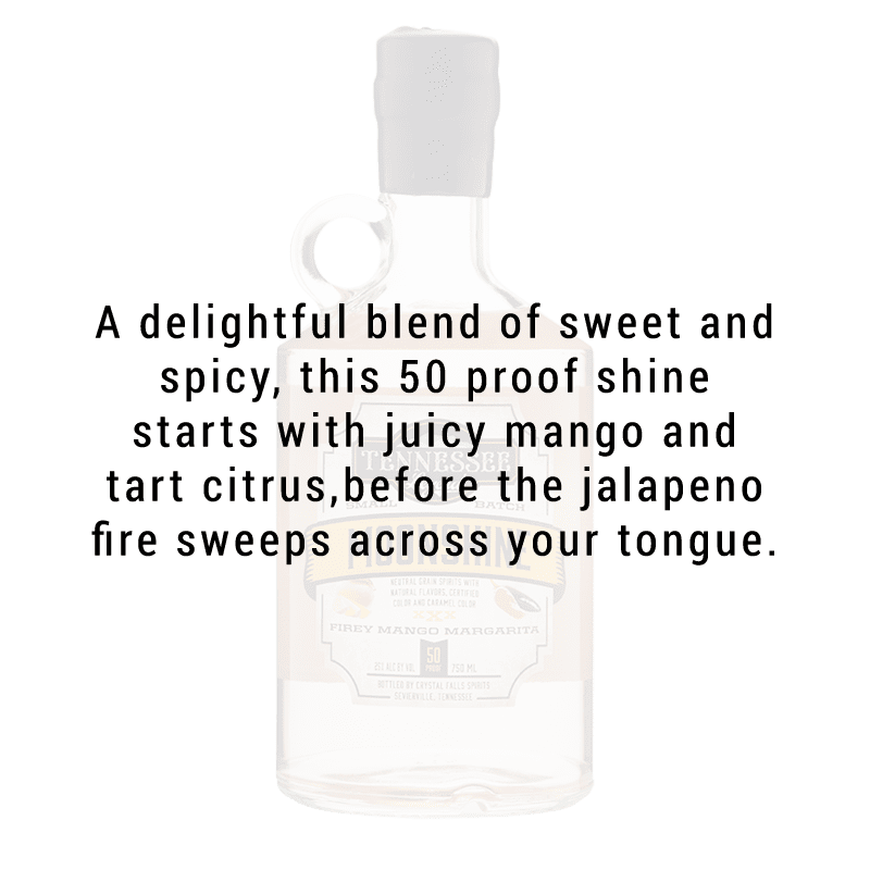 Tennessee Legend Fiery Mango Margarita Moonshine750mL