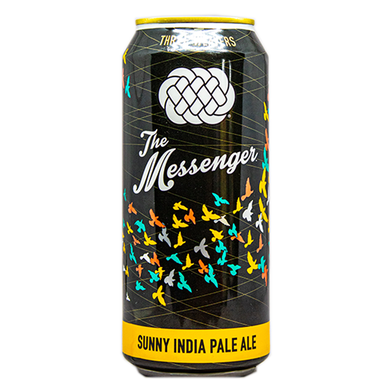 THREE WEAVERS THE MESSENGER SUNNY IPA 16.oz