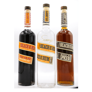 Sammy's Beach Bar Rum Three Pack