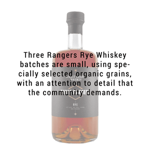 Three Rangers Rye Whiskey 750mL