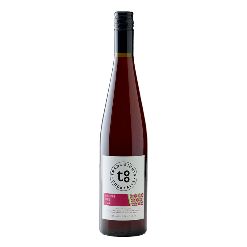 Trade Eights Cocktails Hibiscus Lime Gin 750mL