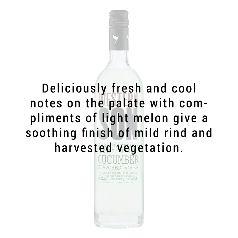 Western Son Cucumber Vodka 750