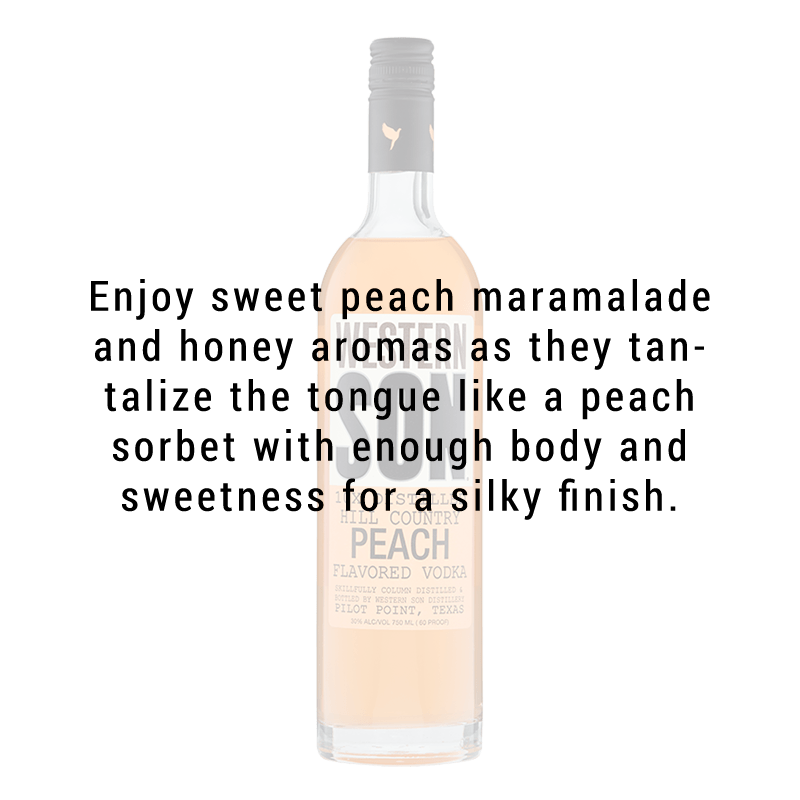 Western Son Peach Vodka 750ml