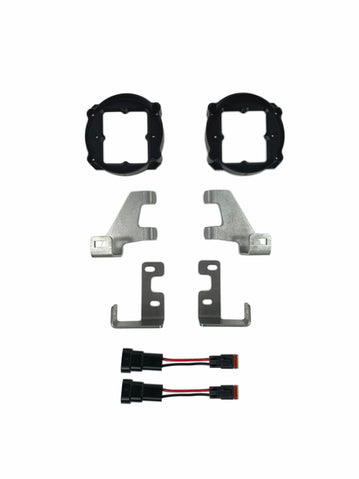 Toyota Tacoma (12-21), Tundra (14-current), 4Runner (10-current) RAV4 (19+) - Fog Light Kit Brackets only