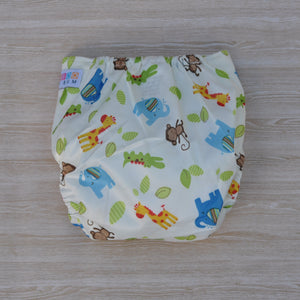 100% Bamboo Cloth Nappy Animals