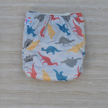 Load image into Gallery viewer, 100% Bamboo Cloth Nappy Dinosaur