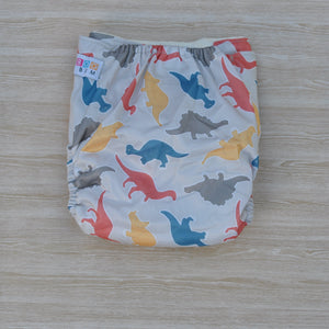 100% Bamboo Cloth Nappy Dinosaur