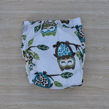 Load image into Gallery viewer, 100% Bamboo Cloth Nappy Owl