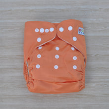 Load image into Gallery viewer, 100% Bamboo Cloth Nappy Orange