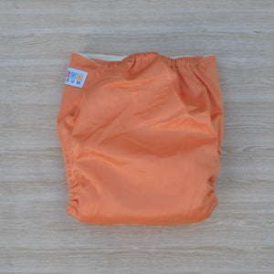 100% Bamboo Cloth Nappy Orange