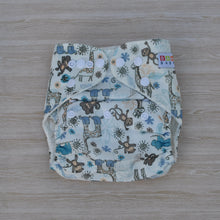 Load image into Gallery viewer, 100% Bamboo Cloth Nappy Zoo