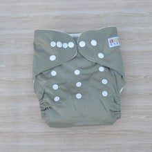 Load image into Gallery viewer, 100% Bamboo Cloth Nappy Green