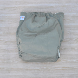 100% Bamboo Cloth Nappy Green
