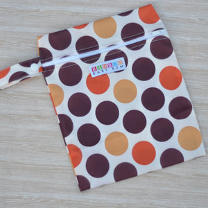 Wet Bag - Orange Spots
